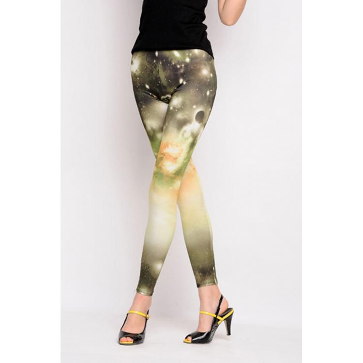 New Galaxy Legging Green